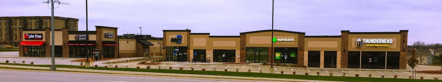 Shops At Traditions 1 and 2- Retail Space Available- Located at 1325 SW Oralabor Road. Home to Thunderhead, Pie Five, and Jimmy Johns!