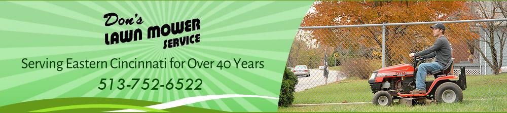 Lawnmower Repair Service - Cincinnati, OH - Don's Lawn Mower Service