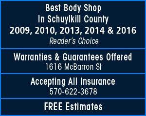 Kline Brothers Auto Body Shop - Auto body shop, auto repairs, auto restoration, auto mechanic - Pottsville, PA
