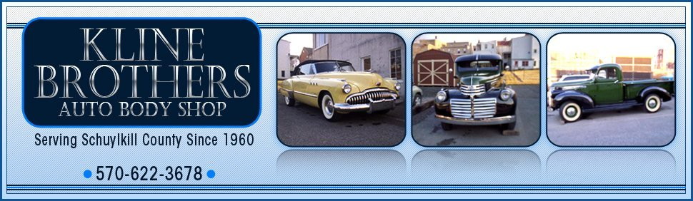 Auto body shop, auto repairs, auto restoration, auto mechanic - Pottsville, PA - Kline Brothers Auto Body Shop