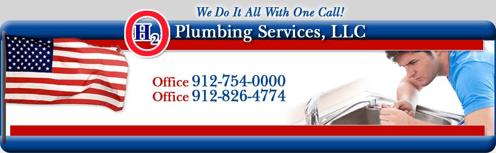 H2O Plumbing Services LLC-Logo