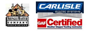 Shinglemaster - Carlisle - GAF Certified