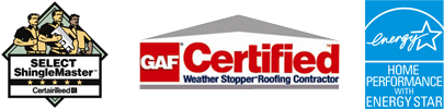 Shingle Master Company CertainTeed, GAF Certified, Seal and Insulate with Energy Star