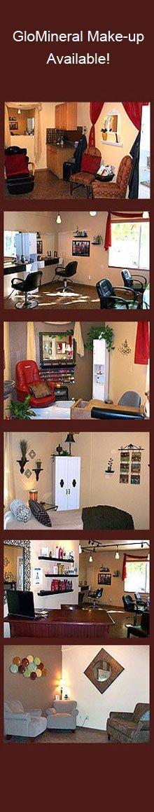 Salon - Carson City, NV - A New U Salon & Spa - model - GloMineral Make-up Available!
