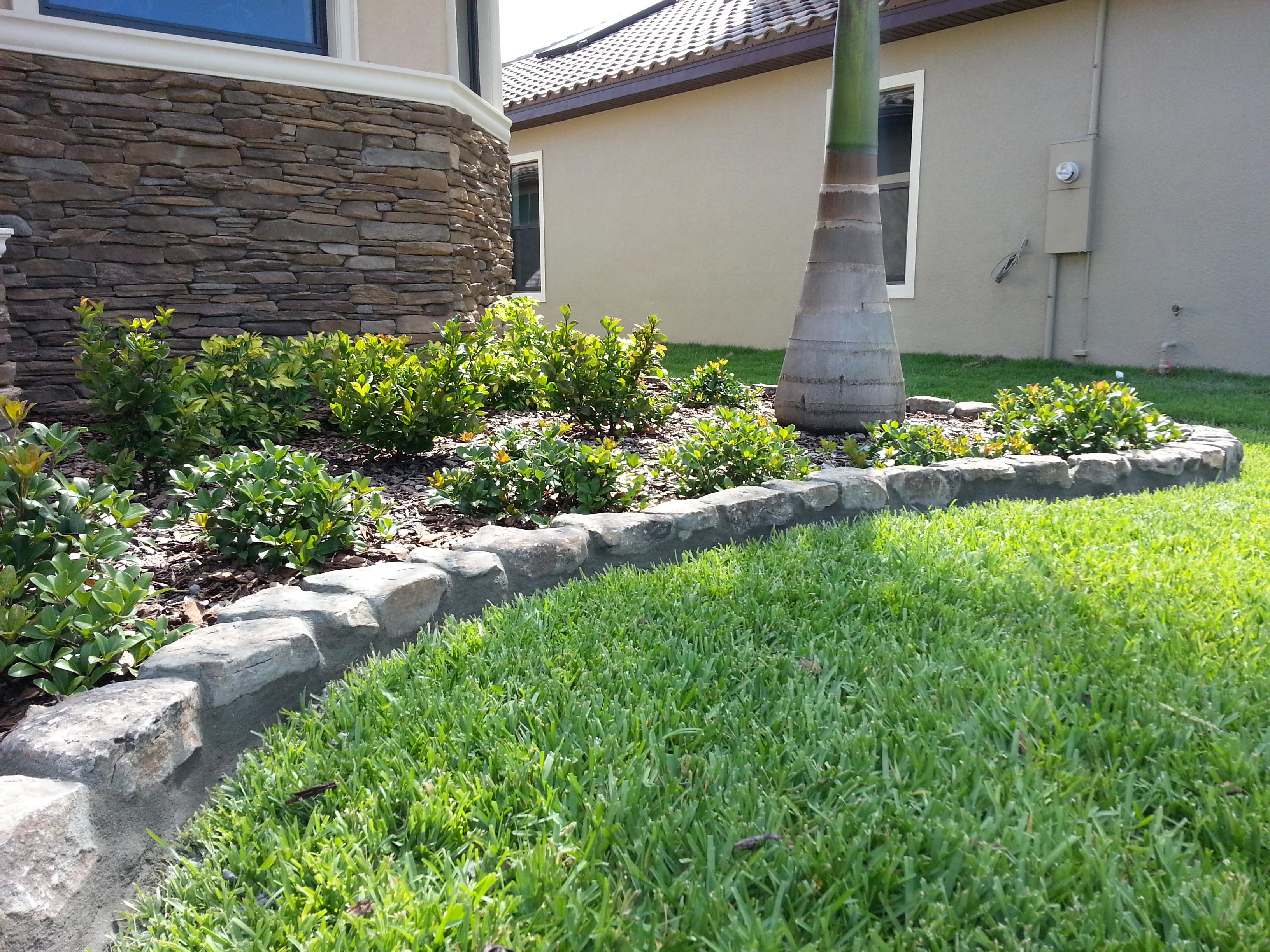 Gallery   Landscape Design   Custom Curbing   Melbourne, FL