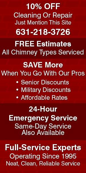 Chimney Service   Emergency Chimney Service - Bohemia, NY - A Sweep Above