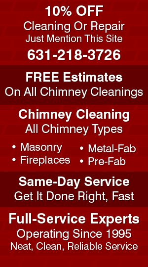 Chimney Cleaning | Gutter Cleaning | Chimney Clearing - Bohemia, NY - A Sweep Above