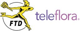 FTD and Teleflora logo