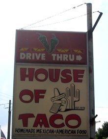 Burritos - Jackson, MI - House of Taco