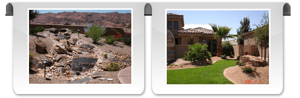 custom landscapes | Saint George, UT | Paradise Landscape, Inc. | 435-632-2656