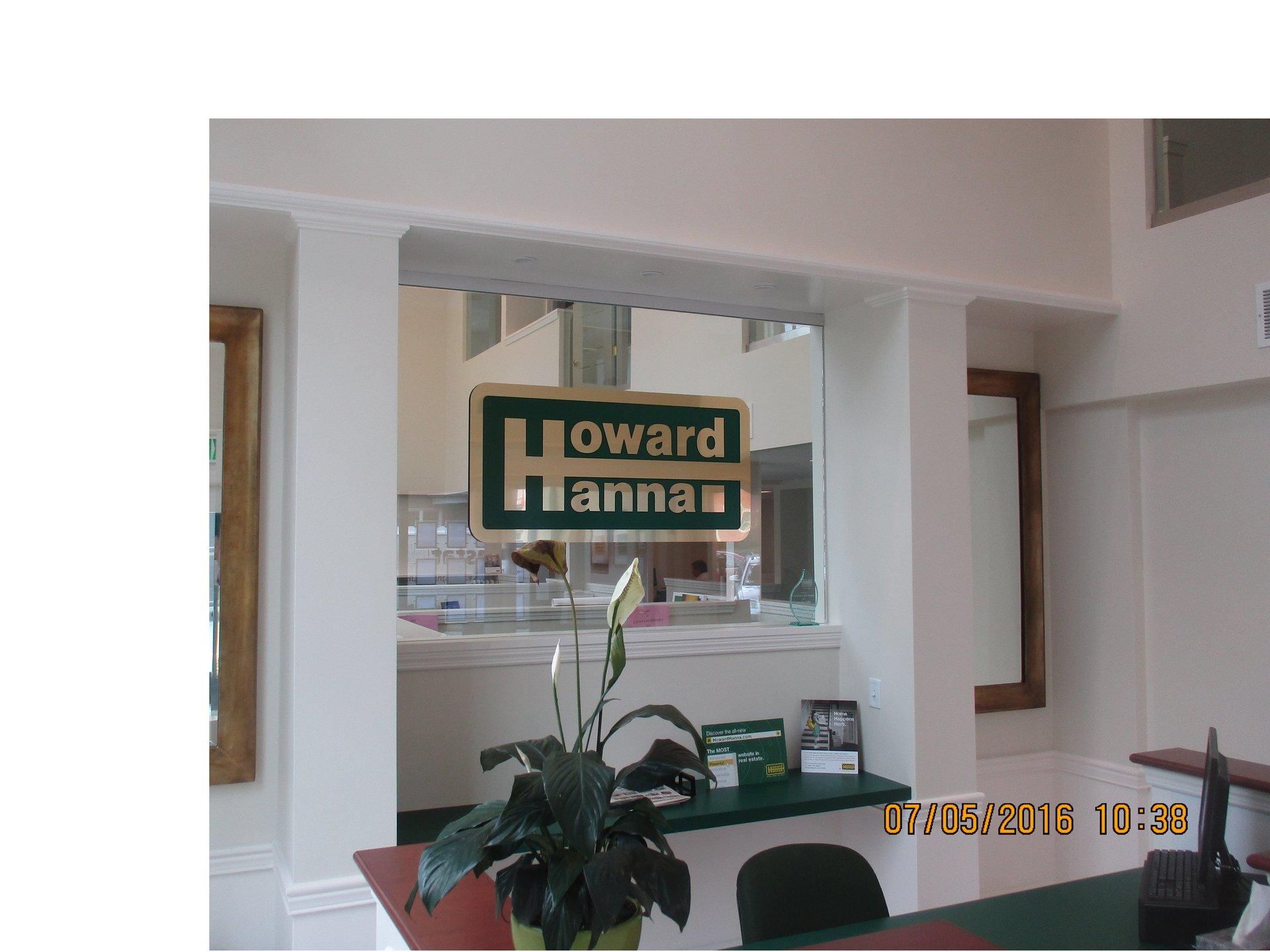 Interior wayfinding signs