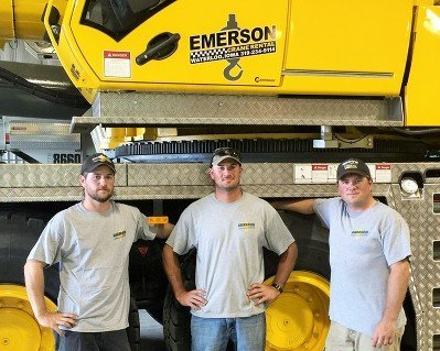 From left to right: John Emerson, Derek Emerson, Chad Emerson