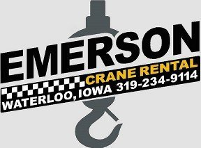 Emerson Crane Rental Inc. logo