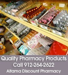 Medication - Brunswick, GA - Altama Discount Pharmacy - Pharmacy