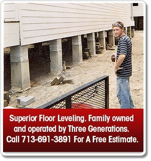 Foundation Leveling - Houston,TX and Central Texas - A-One House Leveling