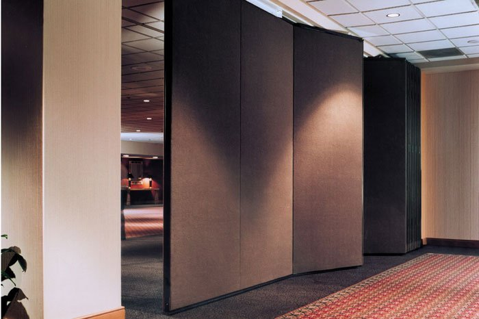 Continously Hinged Electric Powered Walls Add New Possibilies To Any Space.