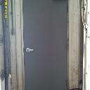 3070 Hollow Metal Walk Door Interior