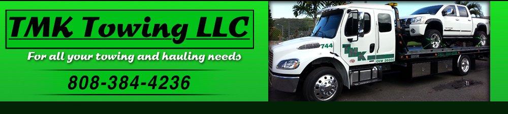 Towing Services - Kaneohe, HI - TMK Towing LLC