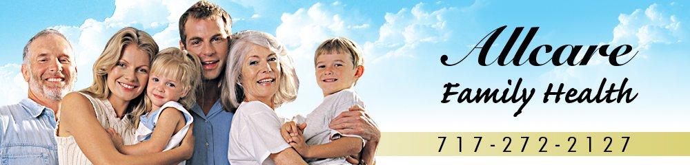 Medicine Lebanon, PA - Allcare Family Health 717-272-2127