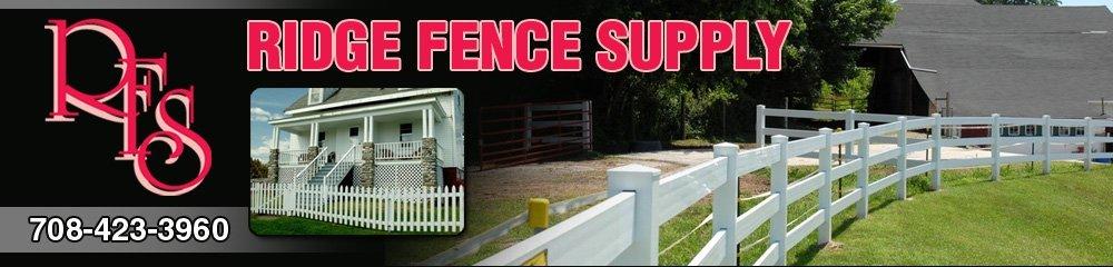 Fence Service - Chicago Ridge, IL - Ridge Fence