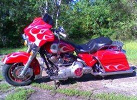 Custom Painting - Eaton, OH - Renewed Image LLC - custom big bike