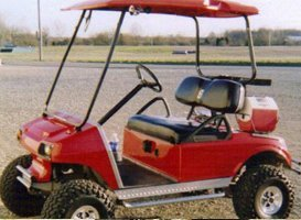 Custom Painting - Eaton, OH - Renewed Image LLC - custom golf cart