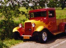 Custom Painting - Eaton, OH - Renewed Image LLC - red truck