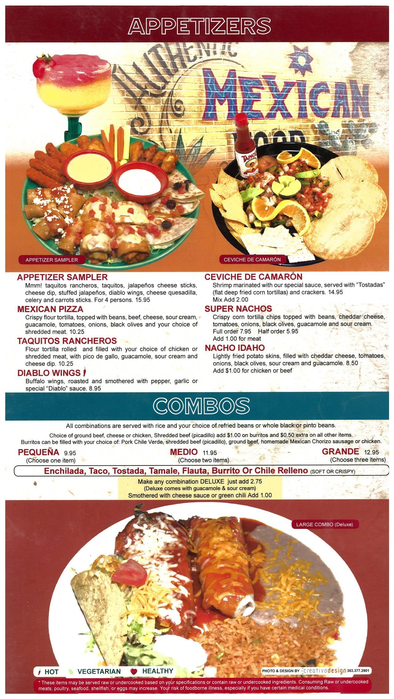 Guadalajara mexican restaurant appetizers soups and salads menu open menu pdf forumfinder Image collections