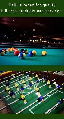 Billiards Products - Des Moines, IA - Big Dog Billiards