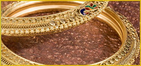 Decorative Golden Bracelet