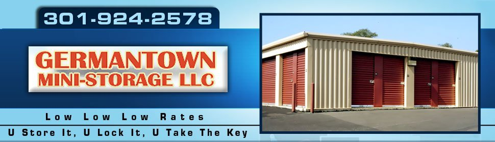 Storage - Germantown, MD  - Germantown Mini Storage LLC