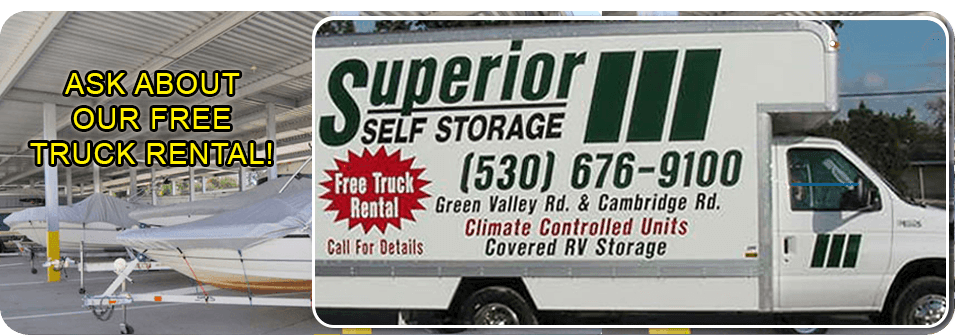 Ordinaire Commercial Storage | Cameron Park, CA | A Superior Self Storage | 530 676