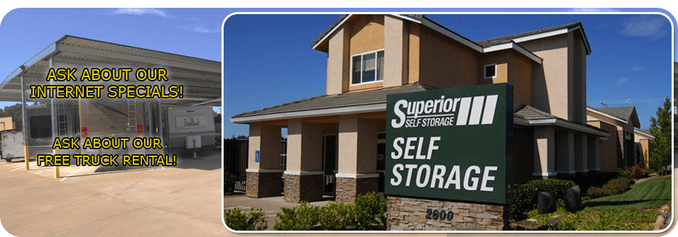 Commercial storage | Cameron Park, CA | a Superior Self Storage | 530-676-9100