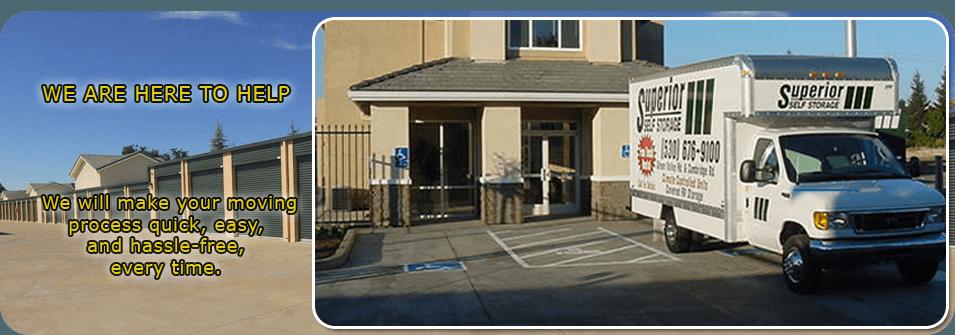 Commercial Storage | Cameron Park, CA | A Superior Self Storage | 530 676