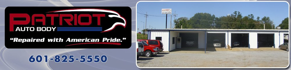 Collision Shop - Brandon, MS - Patriot Auto Body