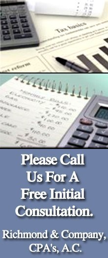 Accounting Firm - Beckley, WV - Richmond & Company, CPA's, A.C. - Tax preparation