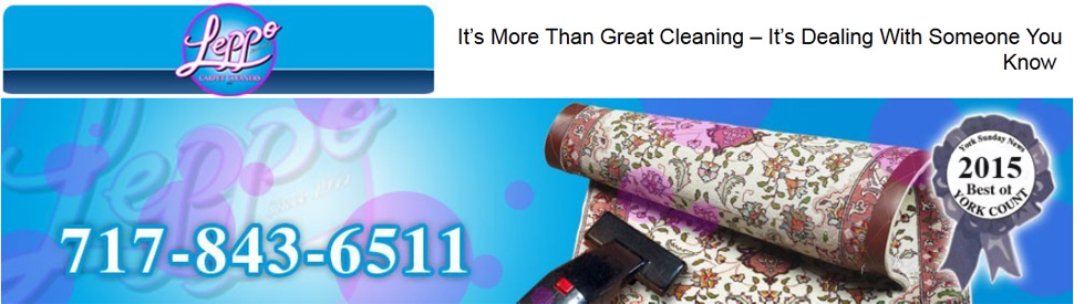 Carpet cleaners - York, PA - Leppo Carpet Cleaners, Inc. - Over 60 Years of Quality Service
