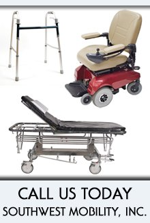 Hospital Equipment - Mesa, AZ - Southwest Mobility, Inc.