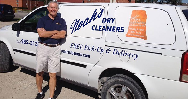 Noahs Cleaners truck