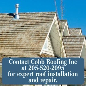 Roof Installation - Birmingham,  AL - Cobb Roofing Inc - Contact Cobb Roofing Inc at 205-520-2095 for expert roof installation and repair.