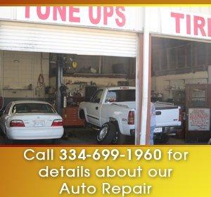 auto repair - Dothan, AL - C & H Tire Service - Auto Repair Service