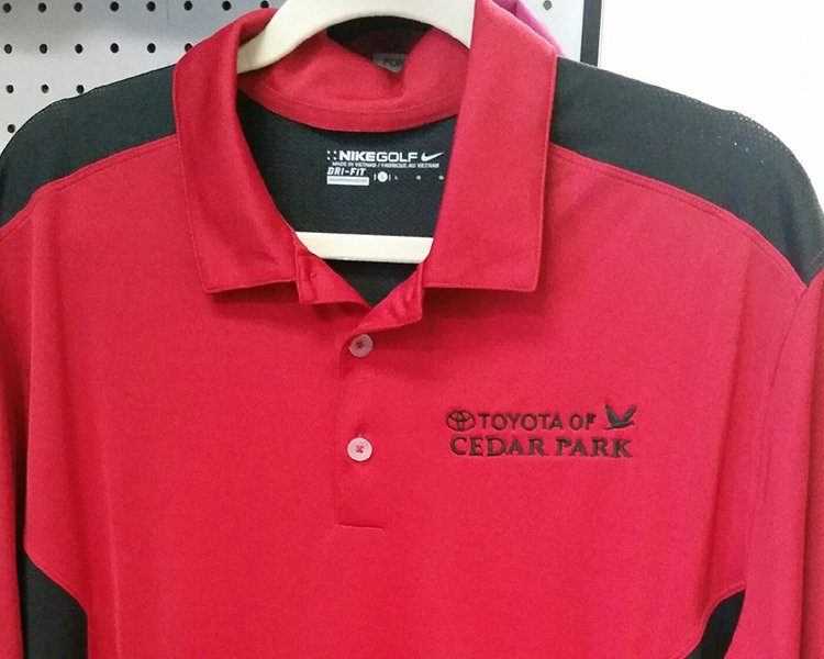 embroidery shirt Toyota
