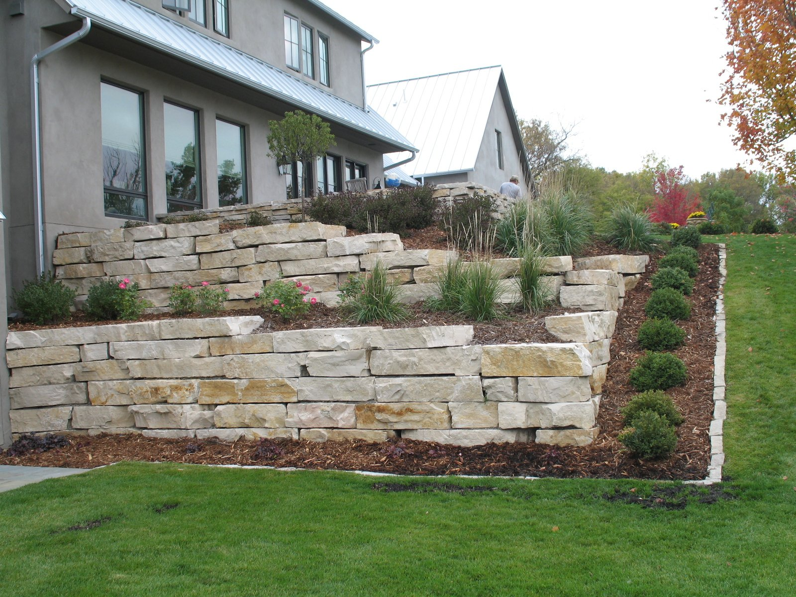 Fond du Lac Weathered Edge Outcropping  and Edgers