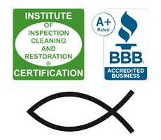 BBB A+ | IIRC | Christian Fish | American Carpet & Upholstery | Nipomo, CA