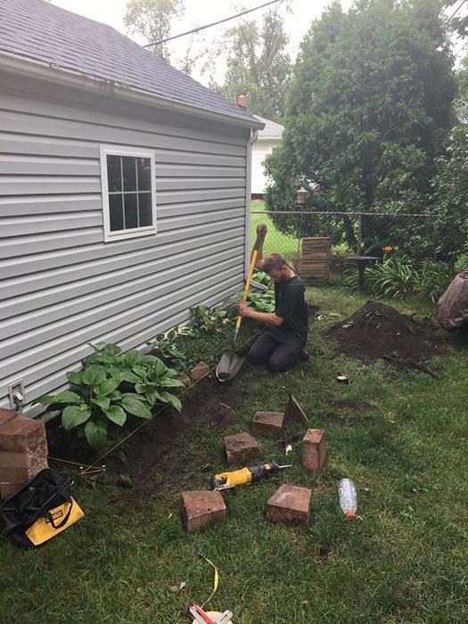 Planting bed preparation