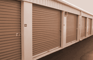 A well secured Ground-level storage units