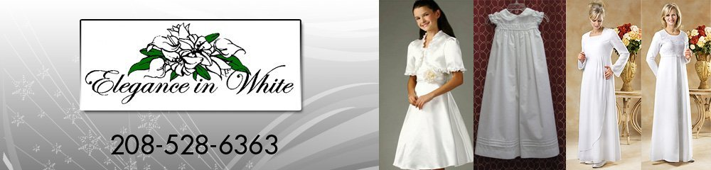 Temple Dresses Idaho Falls, ID - Elegance in White 208-528-6363