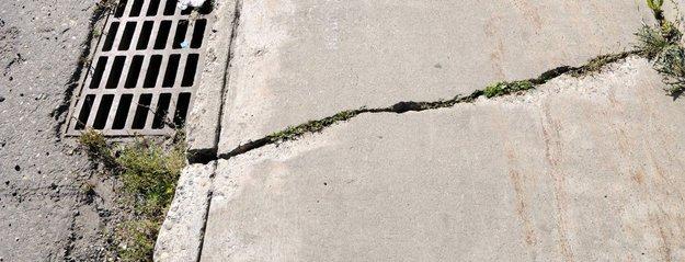 Cracked Sidewalk
