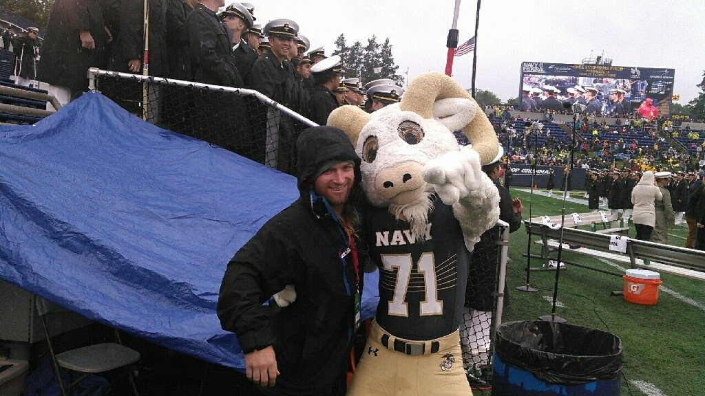 Navy Home Game Oct 3 2015 Annapolis, MD