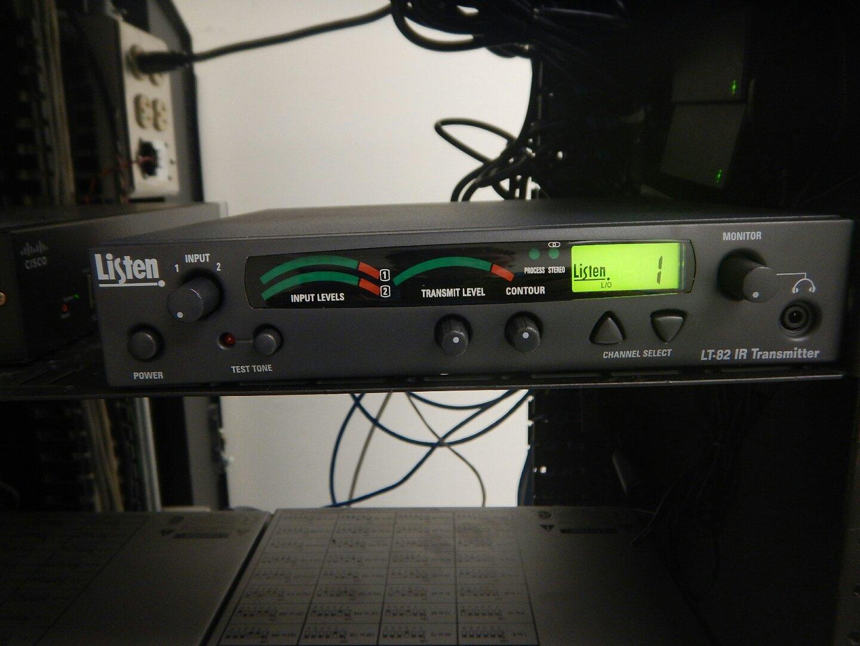Listen Technologies Infrared Hearing Assistance
